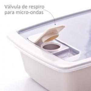 Imagem do produto - Travessa com Tampa 350 ml | Duo 360°