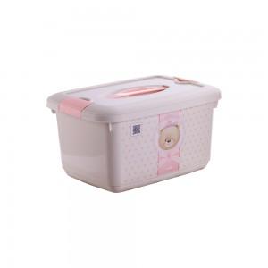 Imagem do produto - Caixa 5,2 L com Alça e Trava | Urso