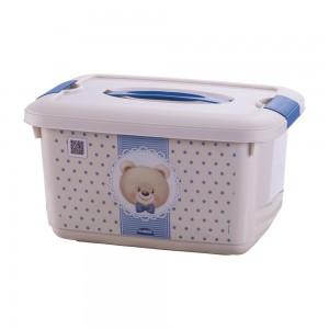 Imagem do produto - Caixa 5,2 L com Alça e Trava   Urso