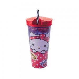 Imagem do produto - Copo com Canudo 2 em 1 | Hello Kitty