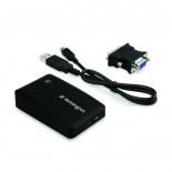 Adaptador USB 2.0 p/ VGA DVI - Kensington