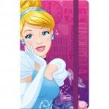 Caderneta Capa Dura Costurada Fitto Princesas - 80 Folhas
