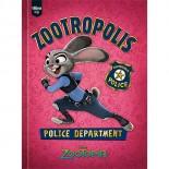 Caderno Brochura Capa Dura Top 1/4 Zootopia - 96 Folhas (Pacote com 10 unidades)