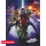 Caderno Brochura Capa Dura Top Universitário Guardiões da Galáxia - 80 Folhas (Pacote com 5 unidades)