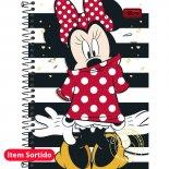 Caderno Espiral Capa Dura 1/4 Minnie - 96 Folhas (Pacote com 5 unidades)