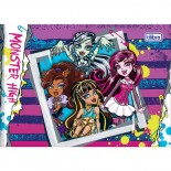 Caderno Brochura Capa Dura Desenho Monster High 40fls (Pacote com 15 unidades)