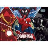 Caderno Pedagógico Brochura Capa Dura Linguagem Horizontal Spider-Man 40fls (Pacote com 10 unidades)