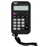 Calculadora de Bolso 8 Dígitos Média TC12 Preta
