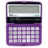 Calculadora de Bolso 12 Dígitos Pequena TC01 Roxa