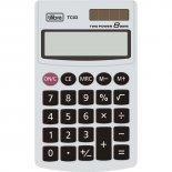 Calculadora de Bolso 8 Dígitos Grande TC03 Branca