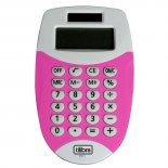Calculadora de Bolso 8 Dígitos Pequena TC11 Rosa