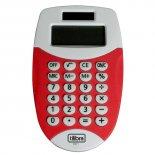 Calculadora de Bolso 8 Dígitos Pequena TC11 Vermelha