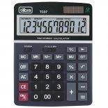 Calculadora de Mesa 12 Dígitos Grande TC07 Preta