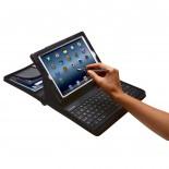 KeyFolio Capa com Zíper e Teclado para iPad 4