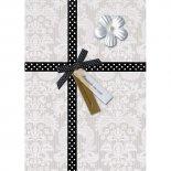 Cartão Handmade Beauty Aniversário Estampa Presente laço poá - Grafon's