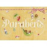 Cartão Handmade Beauty Aniversário Estampa Parabéns- Grafon's