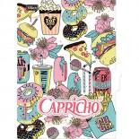 Divisórias para Caderno Argolado Universitário Capricho
