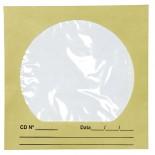 Envelope para CD/DVD Ouro 125x125mm - Caixa com 100 unidades