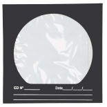 Envelope para CD/DVD Preto 125x125mm - Caixa com 100 unidades
