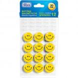 Marcador Magnético Blister com 12 Unidades Smile