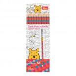 Lápis Preto Redondo Nº2 Pooh (Caixa com 72 unidades)