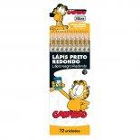 Lápis Preto Redondo N.2 Garfield (Caixa com 72 unidades)