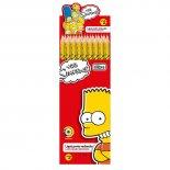 Lápis Preto Redondo N.2 Simpsons (Caixa com 72 unidades)