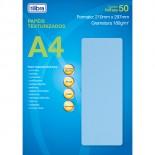 Papel A4 Chapisco Azul 180g
