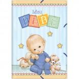 Pasta A/E Bebê Masculino (Pacote com 6 unidades)