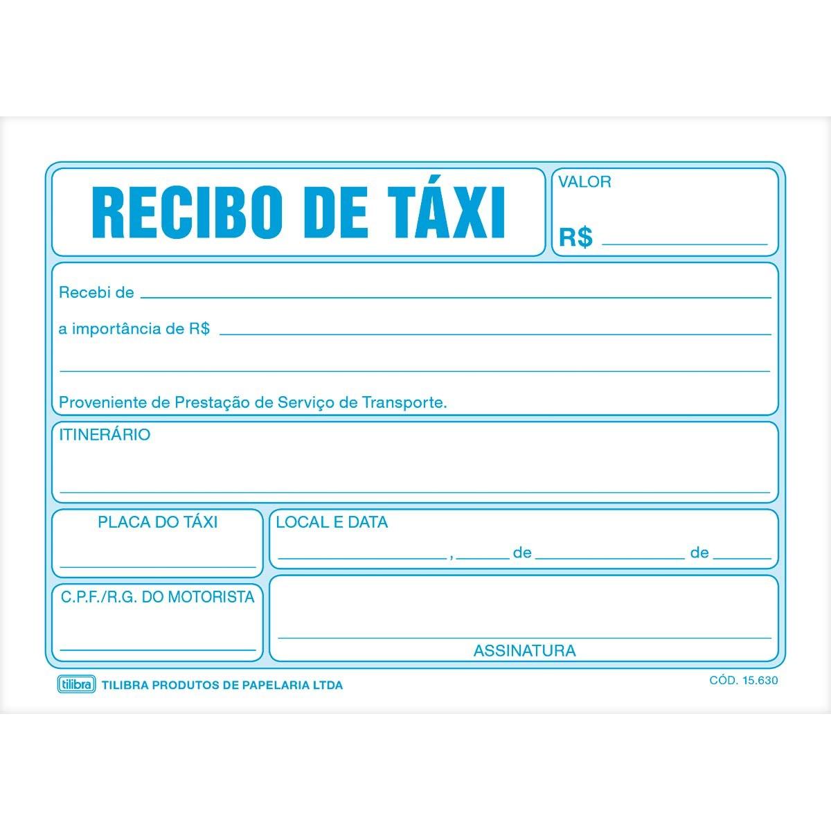 Pin recibo de taxi and post mycelular ajilbabcom portal on for Modelo de recibo de nomina