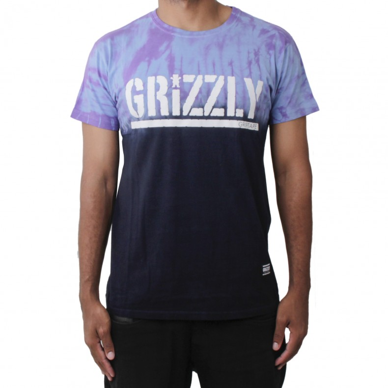 camiseta grizzly fire tie dye camiseta grizzly9 tie dye roxo matriz skate shop. Black Bedroom Furniture Sets. Home Design Ideas