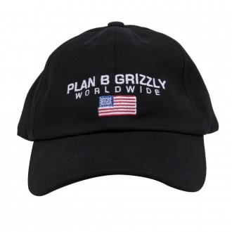 Imagem - BONÉ GRIZZLY x PLAN B WORLDWIDE DAD STRAPBACK - 16382003