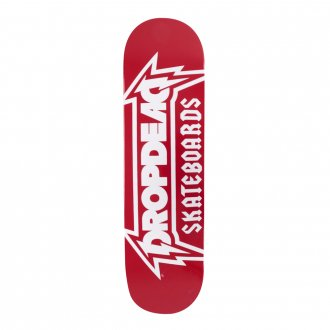 Imagem - SHAPE DROP DEAD METALICA RED 8.125