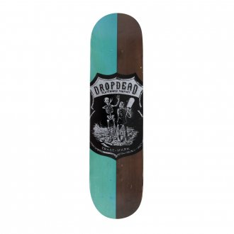 Imagem - SHAPE DROP DEAD SK8 IS LIFE 7.9