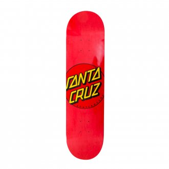 Imagem - SHAPE SANTA CRUZ DOT RED 7.9