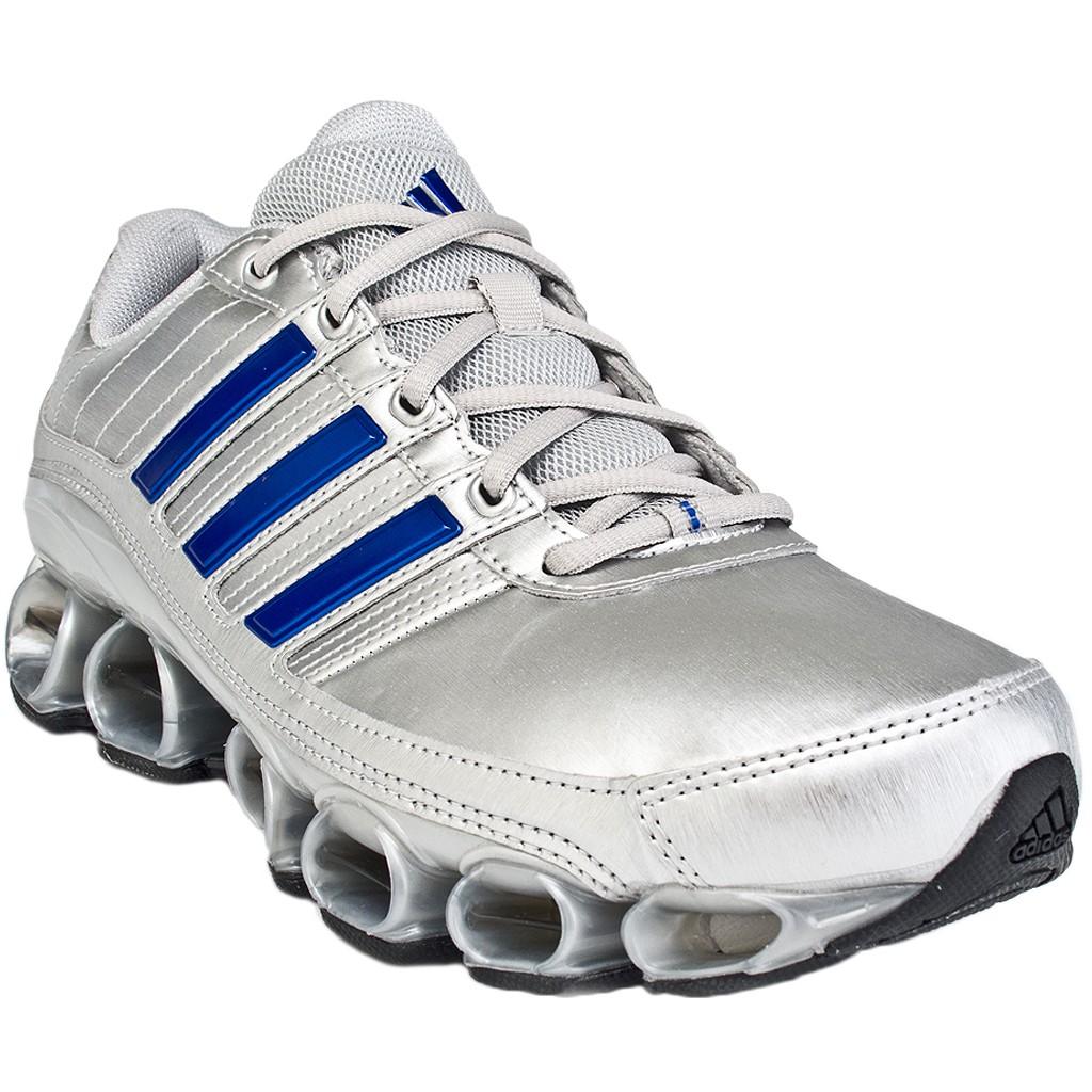 zapatillas adidas bounce azules