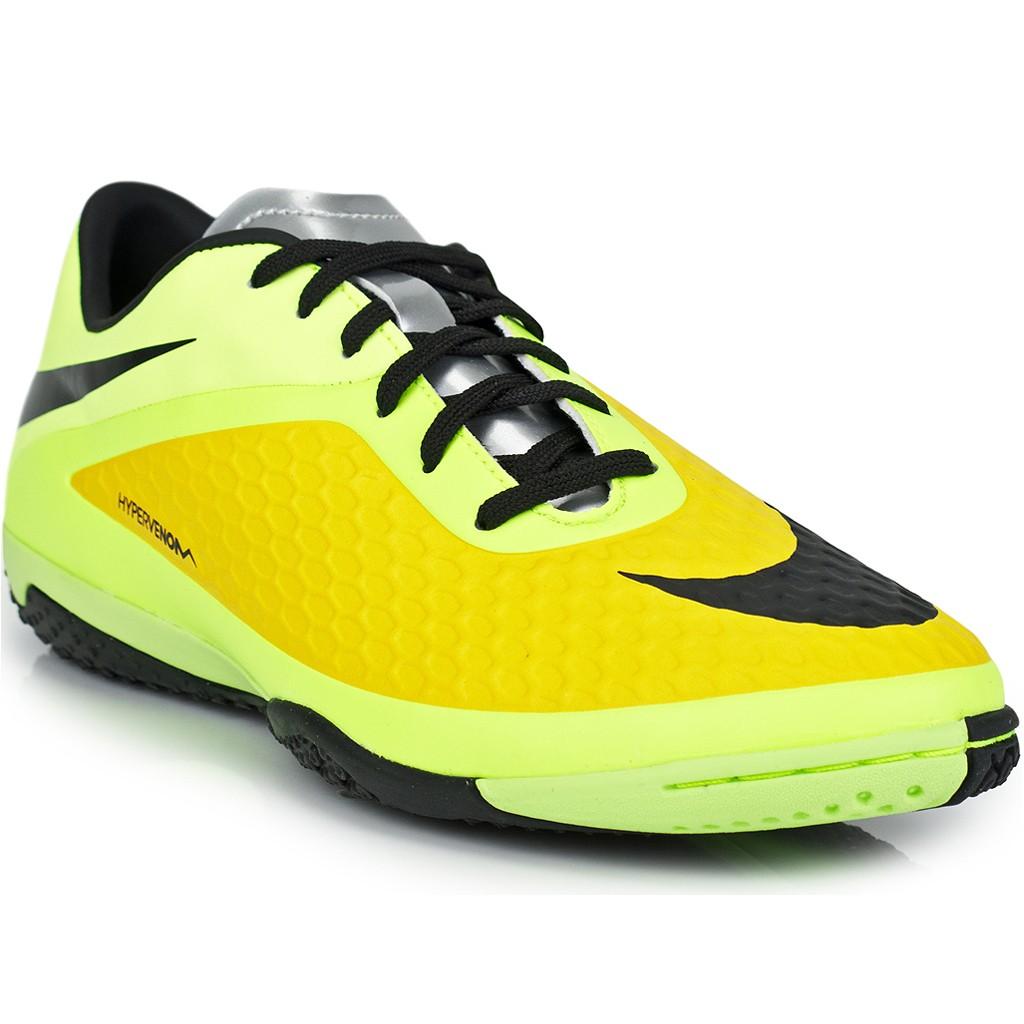 edf6898e6a320 Verde Amarelo Preto ... Chuteira Nike Hypervenom Phelon II FG 749896 ... Chuteira  Nike Hypervenom Phelon Society ...