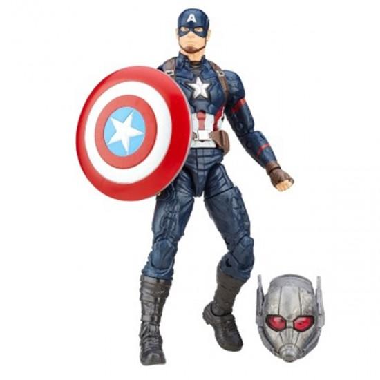 Boneco Captain America - Capitão America Guerra Civil - Marvel Legends Series - Hasbro