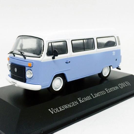 Volkswagen: Kombi Limited Edition (2013) - Azul e Branco - 1:43 - Ixo