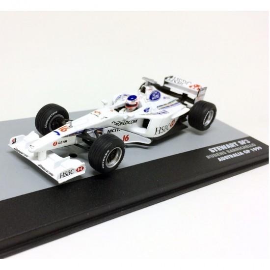 Stewart: SF3 - Rubens Barrichello #16 - Australia GP (1999) - 1:43 - Ixo