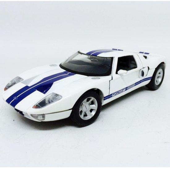 Ford: GT Concept - Branco - 1:24 - Motor Max