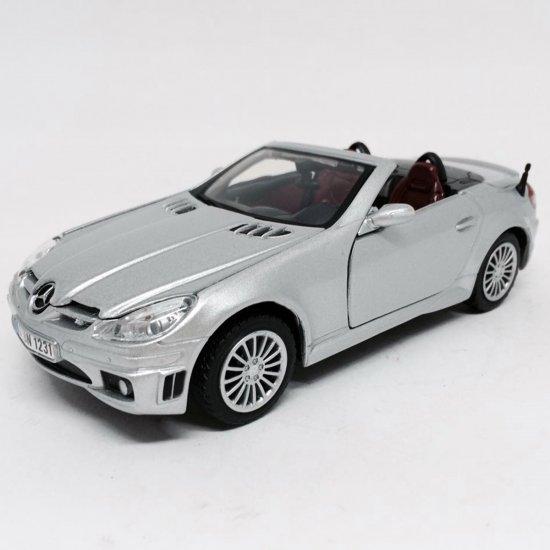 Mercedes Benz: SLK55 AMG - Prata - 1:24 - Motor Max
