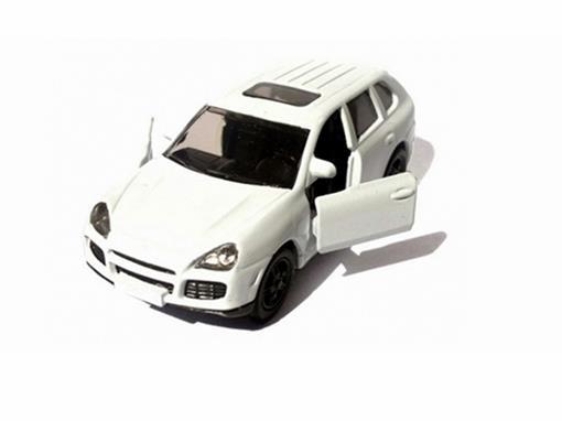 Porsche: Cayenne Turbo - Branco - 1:55