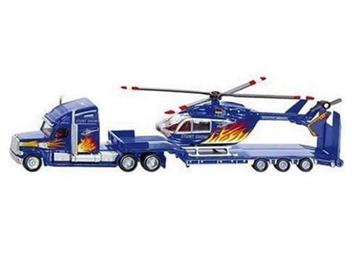 Stunt Team: Caminhão Prancha com Helicóptero - HO