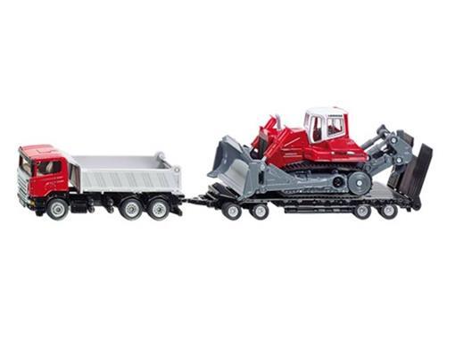 Scania: Caminhão Basculante com Trator Esteira - HO