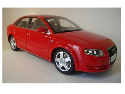 Audi: A4 (2006) - Vermelho - 1:18