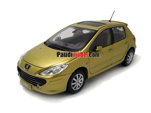 Peugeot: 307 (2008) - Dourado - 1:18