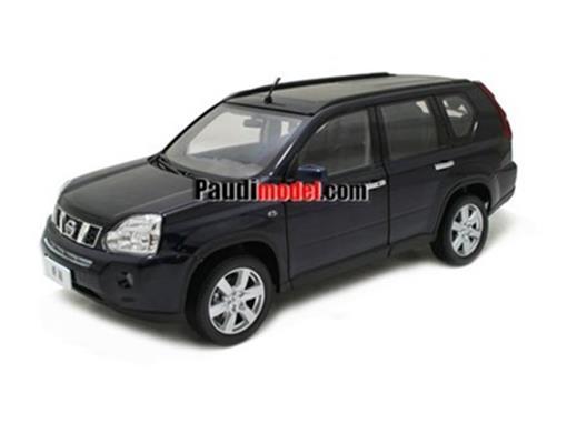 Nissan: X-Trail (2008) - Preto - 1:18
