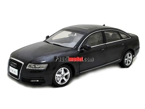 Audi: A6L (2009) - Preto - 1:18
