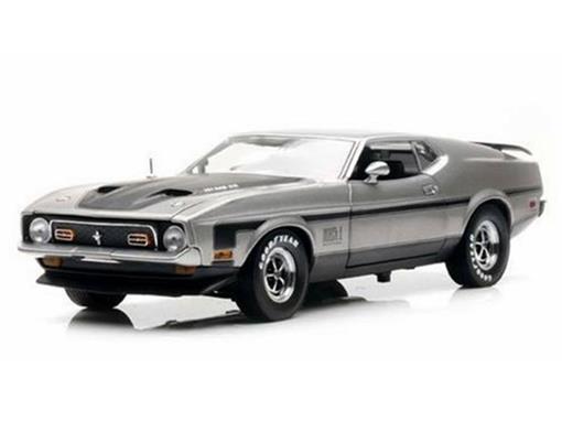Ford: Mustang Mach 1 (1971) - Prata - 1:18